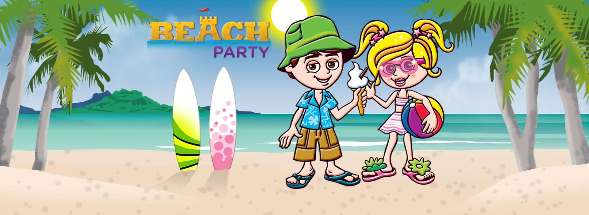 Kids Beach Party - A Fun-Filled Party for Kids Aged 4-11