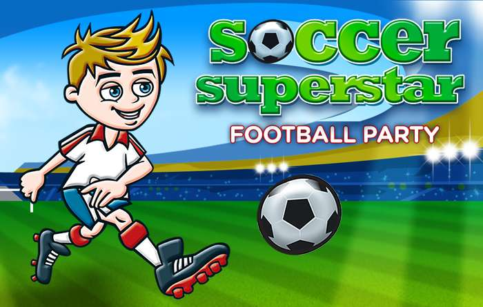 Soccer Superstar Football Party Kids Football Parties By Dna