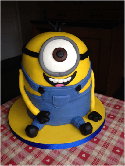 How To Make A Despicable Me Minion Cake