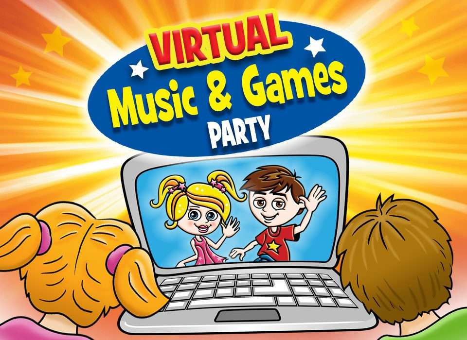 Virtual Music Games Party Online Kids Party Dna Kids